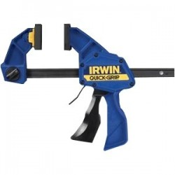 IRWIN Industrial Tool - 536QC - Quick-Grip Clamp - Resin - Non-marring Pad