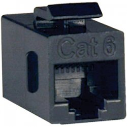 Tripp Lite - N235-001 - Tripp Lite Cat6 Straight Through Modular In-line Snap-in Coupler - (RJ45 F/F)