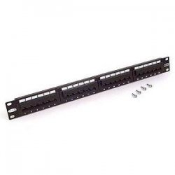 "Belkin / Linksys - F4P338-24AB5-AN - Belkin - Patch panel - black - 19"" - 24 ports"