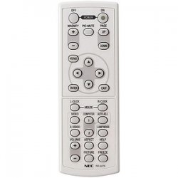 NEC - RMT-PJ06 - NEC Replacement Remote for VT660K, VT660, VT560, VT465 - 23 ft