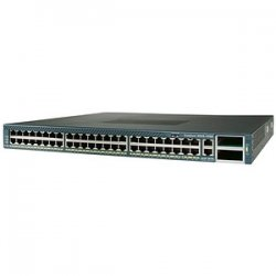 Cisco - WS-C4948-S-RF - Cisco Catalyst 4948 Layer 3 Switch With IP Base Image - 48 x 10/100/1000Base-T