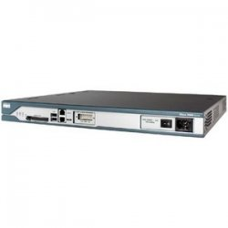 Cisco - C2811-VSEC/K9-RF - Cisco 2811 Integrated Services Router - 1 x Network Module - 2 x 10/100Base-TX LAN, 2 x USB