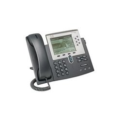 Cisco - CP-7962G-RF - Cisco Unified IP Phone 7962G - VoIP phone - SCCP, SIP - silver, dark gray - refurbished