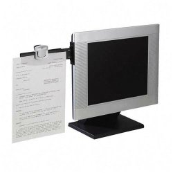 3M - DH240MB - 3M Document Clip DH240MB - Copy holder - black, silver
