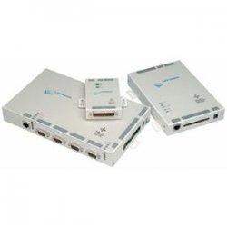 Lantronix - SCS400-12 - Lantronix ActiveLinx SCS400 Console Server - 4 x DB-9 , 1 x RJ-45