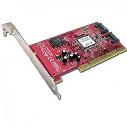 Addonics Technologies - ADSA2 - Addonics ADSA2 Serial ATA RAID Controller - Up to 150MBps - 2 x 7-pin SATA - Serial ATA
