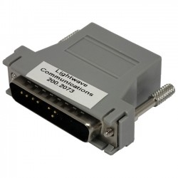 Lantronix - 200.2073 - Lantronix RJ45 to DB-25 DTE Adapter - 1 x RJ-45 Female - 1 x DB-25 Male