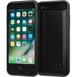Mota / UNorth - TAE-BAT-I7-GK - TAMO iPhone 7 Extended Battery Case - 3100 mAh Dual-Purpose Ultra-Slim Protective Premium Charging Case - Premium Retail Packaging - Jet Black - iPhone 7 - Jet Black