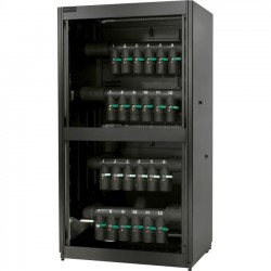 APC / Schneider Electric - ACFD12-T - Schneider Electric Cooling Distribution Unit 12 Circuit, Bottom/Top Mains, Top Distribution Piping