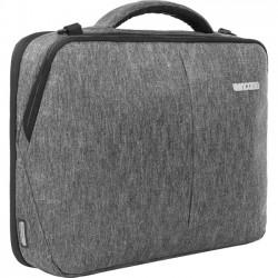 Incipio - CL60596 - Incase Reform Carrying Case (Briefcase) for 15, MacBook, iPad - Black Heather - Impact Absorbing - 300D Ecoya - Checkpoint Friendly - Handle, Shoulder Strap