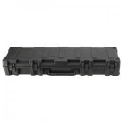 "SKB Cases - 3R5212-7B-EW - SKB 3R Military-Standard Waterproof Shipping Box - Internal Dimensions: 52"" Width x 12.12"" Depth x 8"" Height - External Dimensions: 7"" Depth - Latching Closure - Polyethylene - Black - For Military"