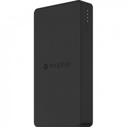 Mophie - 3501 - Mophie Charge Force Powerstation - For Smartphone, Tablet PC, USB Device, iPhone, Qi-enabled Device - 10000 mAh - 2.10 A - 5 V DC Output - 5 V DC Input - 1 x - Black