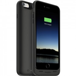 Mophie - 3084 - Mophie juice pack Made for iPhone 6s Plus/6 Plus - iPhone 6S Plus, iPhone 6 Plus - Black - Rubberized