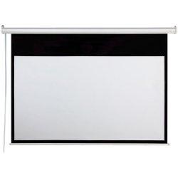 "Draper - 800001 - Draper AccuScreen Electric Projection Screen - 49"" x 87"" - Matte White - 100"" Diagonal"