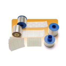Zebra Technologies - 800015-014 - Zebra 800015-014 1.0 Mil Clear Full Card Laminate Ribbon - Thermal Transfer - 100 Page