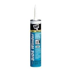 Dap - 00835 - DAP SIDE WINDER Advanced Polymer Siding & Window Sealant - Silicone Polyether - Medium Gray
