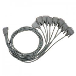 Perle Systems - 04001800 - Perle DTE Fan-out Cable - HD-68 Male - DB-25 Female