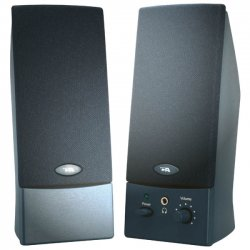 Cyber Acoustics - CA-2016WB - Cyber Acoustics CA-2016WB 2.0 Speaker System - Black - USB