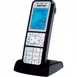 Mitel Networks - 80E00011AAA-AW1 - Aastra 612d DECT Cordless Phone - Cordless - Speakerphone - Backlight