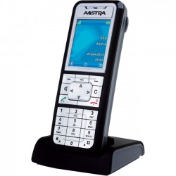 Mitel Networks - 80E00011AAA-AW3 - Aastra 612d DECT Cordless Phone - Cordless - 1 x Phone Line