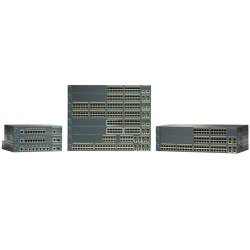 Cisco - WS-C2960-24PC-L-RF - Cisco Catalyst 2960-24PC-L Ethernet Switch with PoE - 2 x SFP (mini-GBIC) - 24 x 10/100Base-TX, 2 x 10/100/1000Base-T