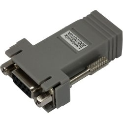 Lantronix - 200.2070A - Lantronix DCE Adapter - 1 x RJ-45 Male - 1 x DB-9 Female Serial