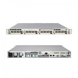 Supermicro - SYS-6013P-8+ - Supermicro SuperServer 6013P-8+ Barebone System - Intel E7501 - Xeon - 12GB Memory Support - CD-Reader (CD-ROM) - Gigabit Ethernet - 1U