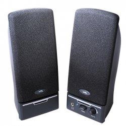 Cyber Acoustics - CA-2014RB - Cyber Acoustics CA-2014rb 2.0 Speaker System - 4 W RMS - Black - 85 Hz - 18 kHz