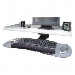 "Kensington - K60066US - Kensington Expandable Articulating Keyboard Platform - 0.3"" Height x 19"" Width x 12"" Depth - White"