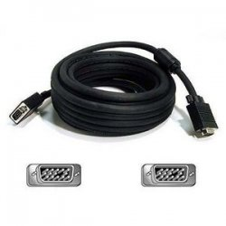 Belkin / Linksys - A3H982-75 - Belkin Pro Series VGA/SVGA Monitor Replacement Cable - HD-15 Male - HD-15 Male - 75ft