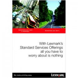Lexmark - 2348412 - Lexmark LexOnSite Repair - 1 Year - Service - Next Business Day - On-site - Maintenance - Electronic and Physical Service