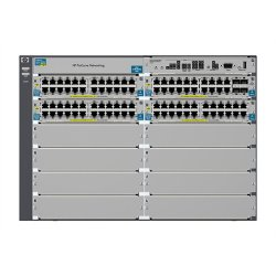Hewlett Packard (HP) - J9448A#ABA - HP Procurve 5412zl-96G-PoE+ Modular Switch - 8 x Expansion Slot, 4 x SFP (mini-GBIC)