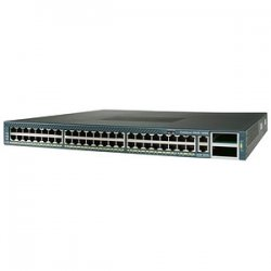 Cisco - WS-C4948-E-RF - Cisco Catalyst 4948-E Multi-layer Switch with Enterprise Service Software - 44 x 10/100/1000Base-T, 4 x 10/100/1000Base-T