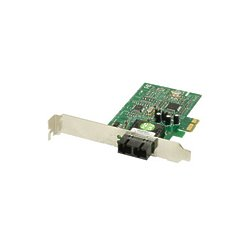 Transition Networks - N-GXE-SC10-01 - Transition Networks Fiber Gigabit Ethernet Network Interface Card - PCI Express - 1 x SC - 1000Base-LX - Internal - Low-profile