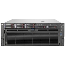 Hewlett Packard (HP) - 584086-001 - HP ProLiant DL580 G7 4U Rack Server - 4 x Intel Xeon E7540 Hexa-core (6 Core) 2 GHz - 32 GB Installed DDR3 SDRAM - Serial Attached SCSI (SAS) Controller - 0, 1, 5, 10, 50 RAID Levels - 4 x 4800 W - 4 Processor Support -