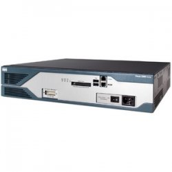 Cisco - CISCO2821-AC-IP-RF - Cisco 2821 Integrated Services Router - 4 x HWIC, 3 x PVDM - 2 x USB, 2 x 10/100/1000Base-T LAN