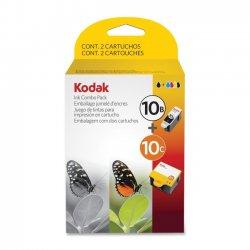 Eastman Kodak - 8367849 - 2687314 (10B; 10C) Ink, 425; 420 Page-Yield, Black; Tri-Color 2/Pk
