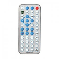 Seal Shield - STV5 - Seal Shield Silver Seal STV5 Universal Remote Control - For TV