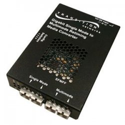 Transition Networks - SFMFF1324-280 - Transition Networks Gigabit Ethernet Fiber Transceiver - 2 x SC Ports