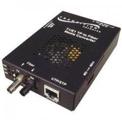 Transition Networks - SSDTF1011-120-NA - Transition Networks Point System SSDTF1011-120 Media Converter - 1 x ST Ports - T1/E1 - External