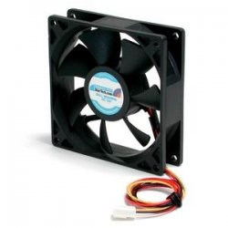 StarTech - FAN9X25TX3H - StarTech.com 90x25mm High Air Flow Dual Ball Bearing PC Case Fan - 2600rpm