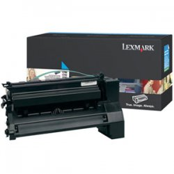 Lexmark - C780H2CG - Lexmark Original Toner Cartridge - Laser - 10000 Pages - Cyan - 1 Each