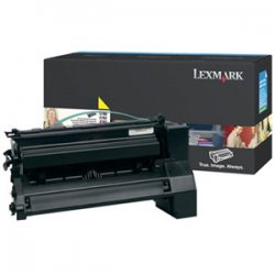 Lexmark - C780H2YG - Lexmark High Yield Yellow Toner Cartiridge - Laser - 10000 Page - 1 Each