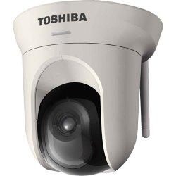 Toshiba - IK-WB16A-W - Toshiba Megapixel PTZ Wireless IP Camera