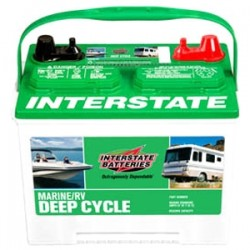Interstate Batteries - SRM24 - Interstate Deep Cycle Marine/Automotive Battery - 12 V DC