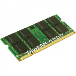 Kingston - KAC-MEMF/1G - Kingston 1GB DDR2 SDRAM Memory Module - 1GB (1 x 1GB) - 667MHz DDR2-667/PC2-5300 - DDR2 SDRAM - 200-pin