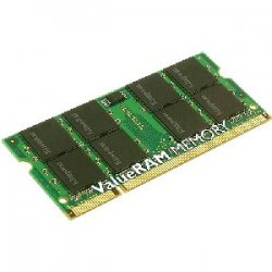 Kingston - KTL-TP667/1G - Kingston 1GB DDR2 SDRAM Memory Module - 1GB (1 x 1GB) - 667MHz DDR2-667/PC2-5300 - DDR2 SDRAM - 200-pin