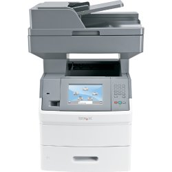 Lexmark - 16M1849 - Lexmark X651DE Laser Multifunction Printer - Monochrome - Plain Paper Print - Desktop - Copier/Printer/Scanner - 45 ppm Mono Print - 1200 x 1200 dpi Print - 45 cpm Mono Copy - 1 x Input Tray 550 Sheet, 1 x Multipurpose Feeder 100