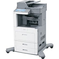 "Lexmark - 16M1854 - Lexmark X658DE Laser Multifunction Printer - Monochrome - Plain Paper Print - Desktop - Copier/Fax/Printer/Scanner - 55 ppm Mono Print - 1200 x 1200 dpi Print - Automatic Duplex Print - 55 cpm Mono Copy - 9"" Touchscreen - 600 dpi"