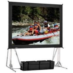 Da-Lite - 87288 - Da-Lite Fast-Fold Truss Frame Portable Projection Screen - 132 x 228 - Da-Mat - 263 Diagonal